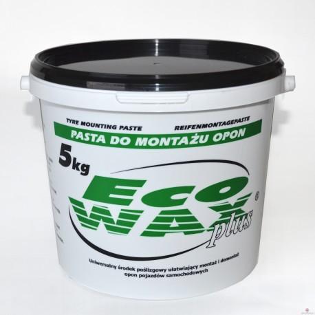 """ECO-WAX"" -pasta monterska CZARNA 5kg"