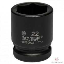 """Nasadka 22 mm 1/2"""" dł. 38mm W"""