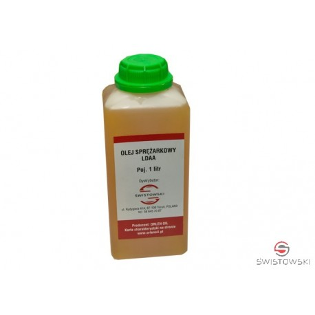 Olej do spężarek tłokowych CORALIA L-DAA 100