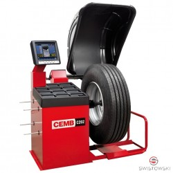 WHEEL BALANCER Cemb C202SE for trucks (semi-automatic, display, sonar option possible)