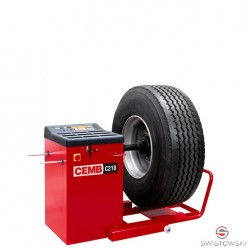 WHEEL BALANCER Cemb C210 for trucks (semi-automatic, display)