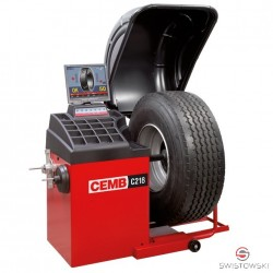 WHEEL BALANCER Cemb C218 for trucks (automatic, display)