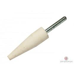Kamień szlifierski 10mm x 30mm stożkowy (biały)