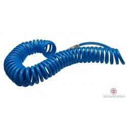 Wąż spiralny 16x11mm dł.15mb. szybkozłącza typ 1700