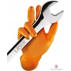 """Rękawice robocze Grippaz """"XL"""" pomarańczowe"""