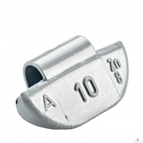 Ciężarek 10g. cynkowy ALU (typ 63) 100szt./pud.