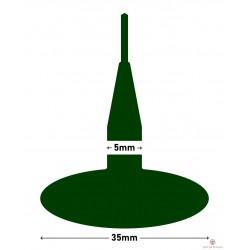 Kołek MARUNI grzybek 35x4.5mm z drutem