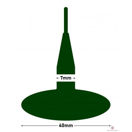 Kołek MARUNI grzybek 40x7mm z drutem