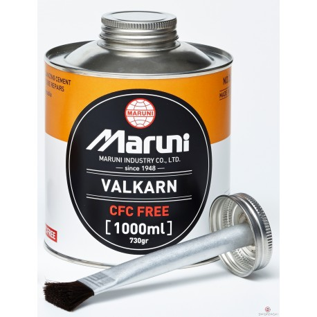 Płyn wulkanizacyjny do dętek VALKARN CFC-FREE 1l +pędzel