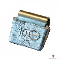 Ciężarek   10g ALU nabijany SMART 100 szt./pud.