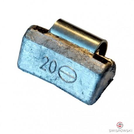 Ciężarek   20g ALU nabijany SMART 100 szt./pud.