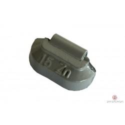 Ciężarek  15g cynkowy standard (SS606) 100szt./pud.