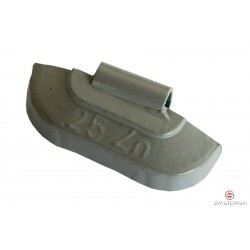 Ciężarek  25g cynkowy standard (SS606) 100szt./pud.