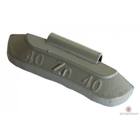 Ciężarek 40g cynkowy standard (SS606) 50 szt./pud.