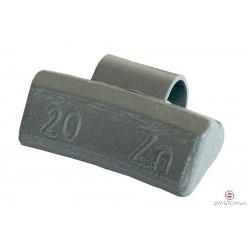 Ciężarek 20g cynkowy ALU (SA605) 100szt./pud.