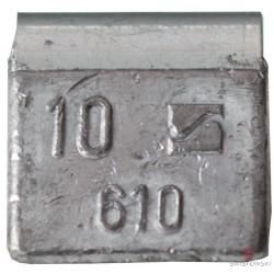 Ciężarek  10g ALU nabijany (typ 610) 100 szt./pud.