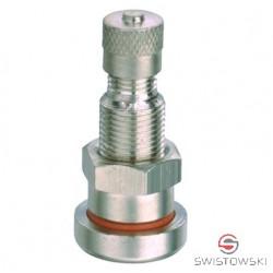 Zawór V2-04-1 do kół bezdętkowych (niklowany)