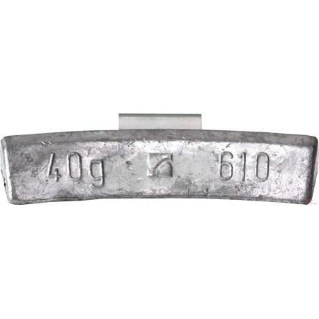 Ciężarek  40g ALU nabijany (typ 610) 100 szt./pud.