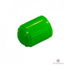 Kapturek-nakrętka plastikowa ZIELONA 100 szt.