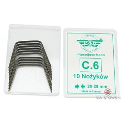 "Nożyk do nacinarki - typ C-6 - 22mm ""V"""