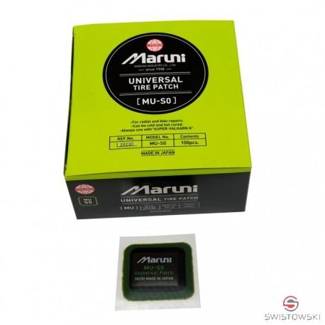 Łatka MARUNI MU-S0 45mm kwadrat do opon 100 szt./pud.