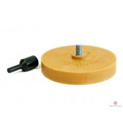 Krążek z adapterem do usuwania kleju po ciężarkach